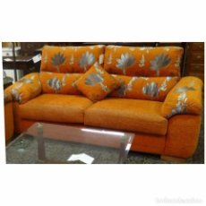 Vintage: SOFAS 3 PLAZAS NARANJA. Lote 93063740