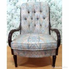 Vintage: BUTACA SILLON CAPITONE. Lote 93144965