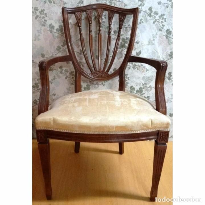 BUTACA SILLON INTERVITE NOGAL (Vintage - Muebles)