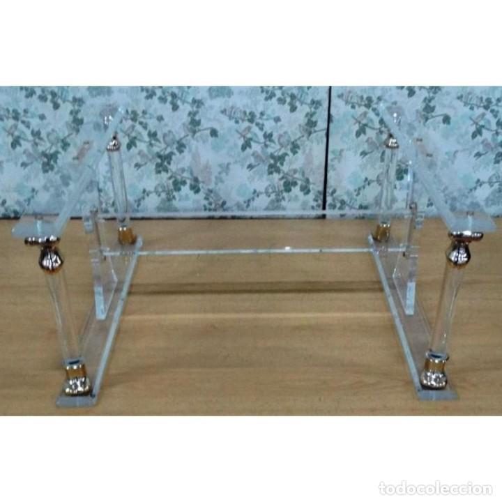 Patas metacrilato mesa centro sin cristal comprar muebles vintage en todocoleccion 93246040 - Mesas de metacrilato ...