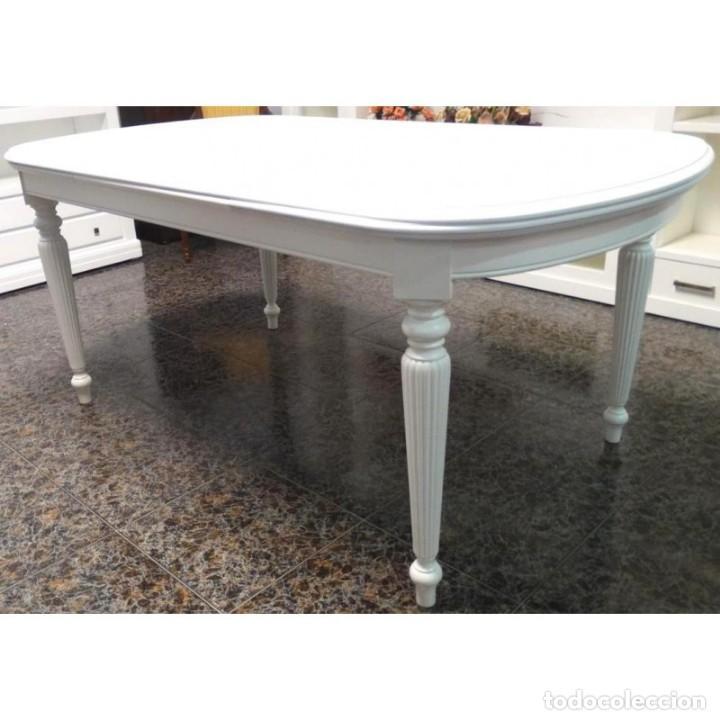mesa comedor lacada extensible 180 x 100 - Kaufen Vintage-Möbel in ...
