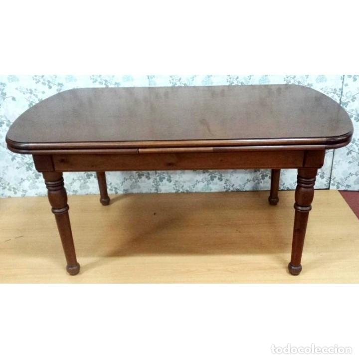 mesa comedor pino color nogal 160 x 90 - Kaufen Vintage-Möbel in ...