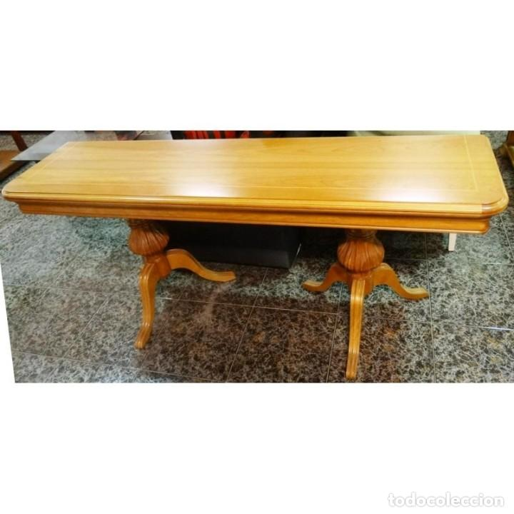 mesa comedor de libro 180 x 45 cerezo - Comprar Muebles vintage en ...