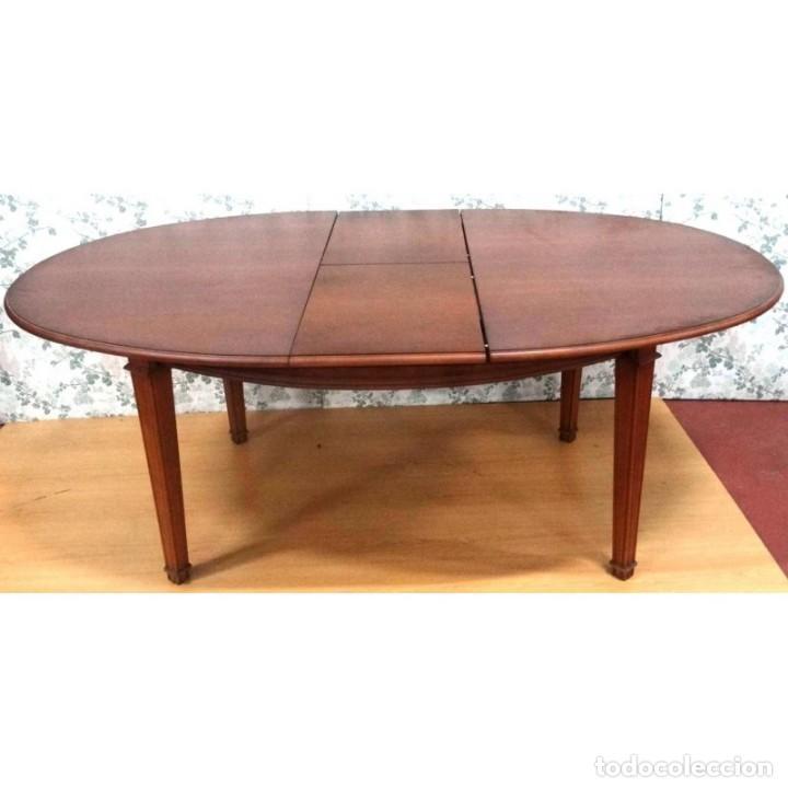 mesa comedor eliptica cerezo extensible 160 x 1 - Kaufen Vintage ...