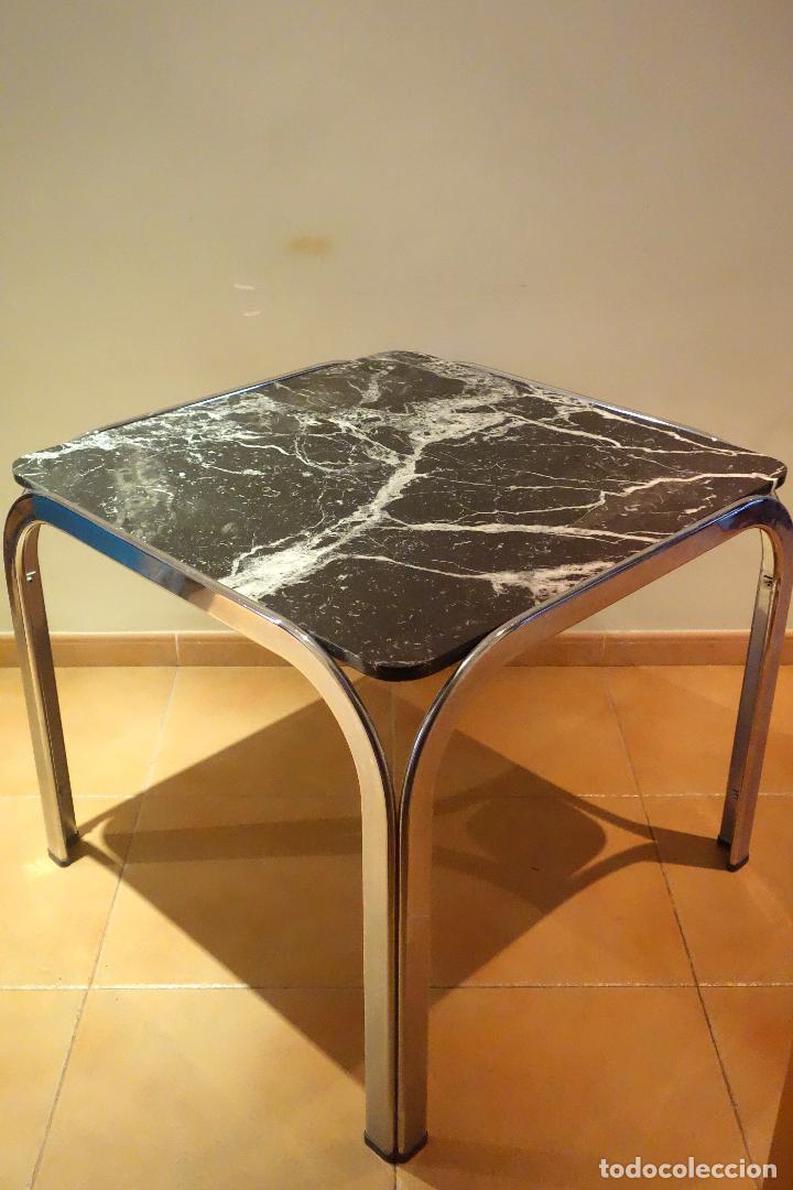 mesa de comedor vintage años 60 70 metal cromad - Kaufen Vintage ...