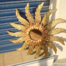 Vintage: MACNIFICO SOL DE MADERA. Lote 94058450