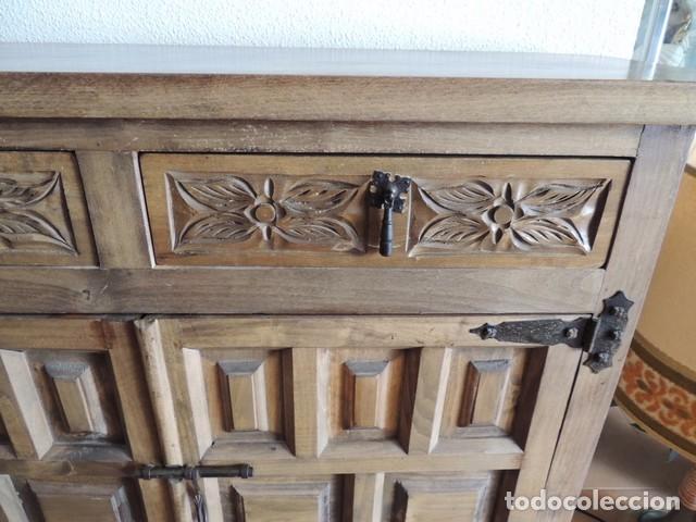Taquillon castellano madera maciza comprar muebles for Mueble castellano restaurado