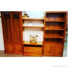 Vintage: COMPOSICION LIBRERIA COLOR CEREZO 286 X 203. Lote 94383018
