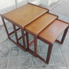 Vintage: MESA MESAS NIDO VINTAGE TECA INGLES ESTILO NÓRDICO. Lote 94246880