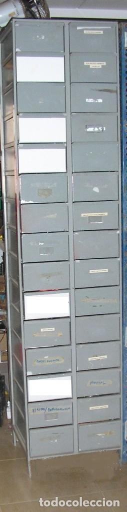 Cajonera archivador metalica en hierro de estil comprar for Cajonera estilo industrial