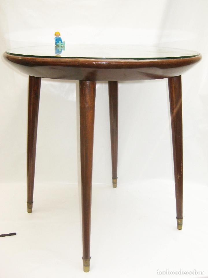 Preciosa Mesa Mesita Auxiliar Vintage Midcentur Sold At Auction