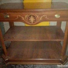 Vintage: MUEBLE AUXILIAR MARQUETERÍA. Lote 94984027