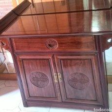 Vintage: BONITO MUEBLE COLOR CAOBA . Lote 95948572