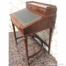 Vintage: ESCRITORIO PUPITRE ABATIBLE NOGAL. Lote 96981527