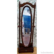 Vintage: ESPEJO TOCADOR NOGAL. Lote 97122551