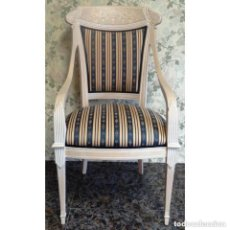 Vintage: 2 SILLONES IMPERIO DECAPE RAYAS. Lote 97207411