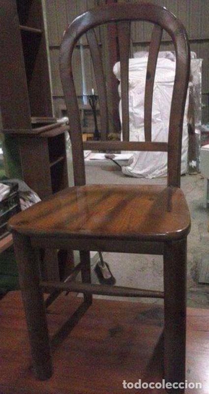 mesa cocina con cajón y dos sillas - Comprar Muebles vintage en ...