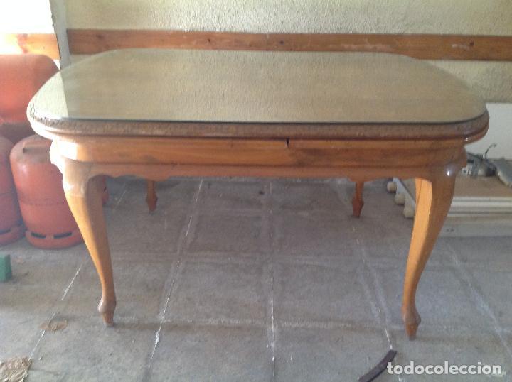 Antigua mesa de comedor para restaurar comprar muebles - Mesa comedor antigua ...
