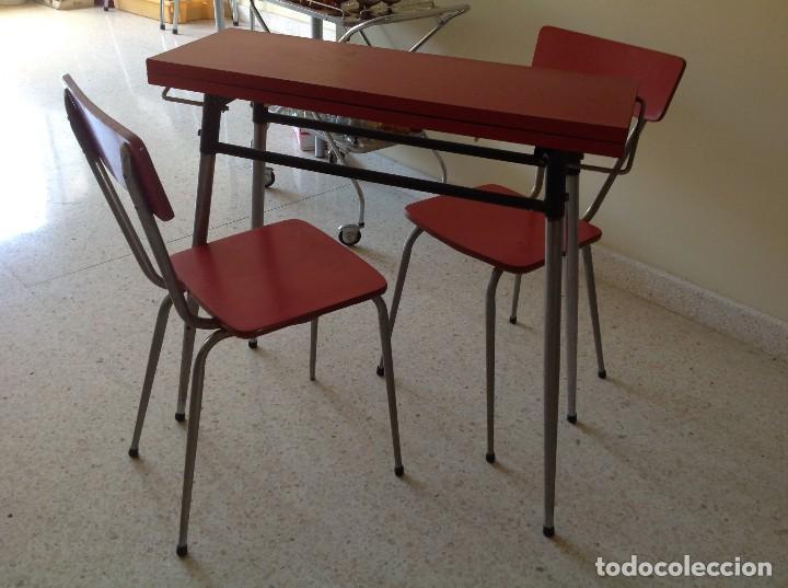 mesa plegable de cocina vintage.años 60 - Comprar Muebles vintage en ...