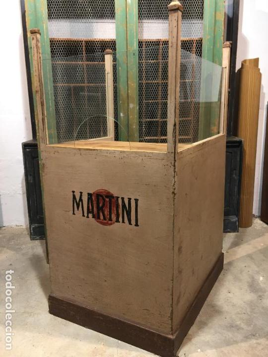 Antigua taquilla mueble de comercio martini comprar for Muebles para comercio