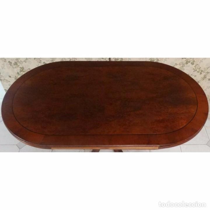 mesa comedor ovalada raiz extensible 140 x 80 - Comprar Muebles ...