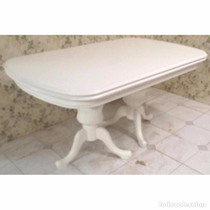 mesa comedor petaca blanca extensible 150 x 90 - Comprar Muebles ...