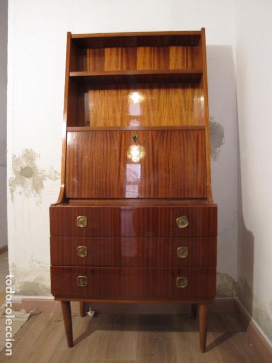 Escritorio vintage a os 60 70 de formica nor comprar muebles vintage en todocoleccion 98223911 - Muebles anos 60 ...