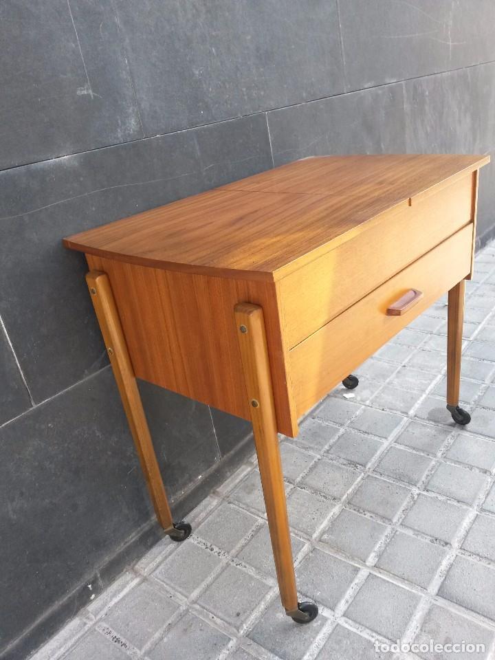 Enorme costurero dan s vintage a os 50 60 muebl comprar for Mueble costurero