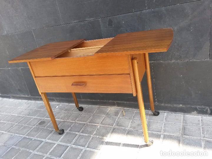 Enorme costurero dan s vintage a os 50 60 muebl vendido for Mueble costurero