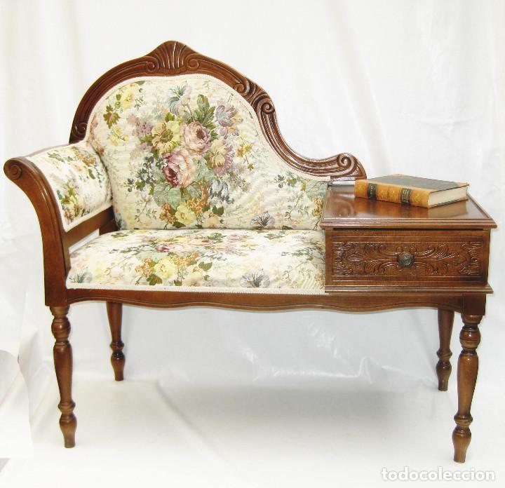 Mueble telefono vintage midcentury clasico tres comprar - Muebles online vintage ...