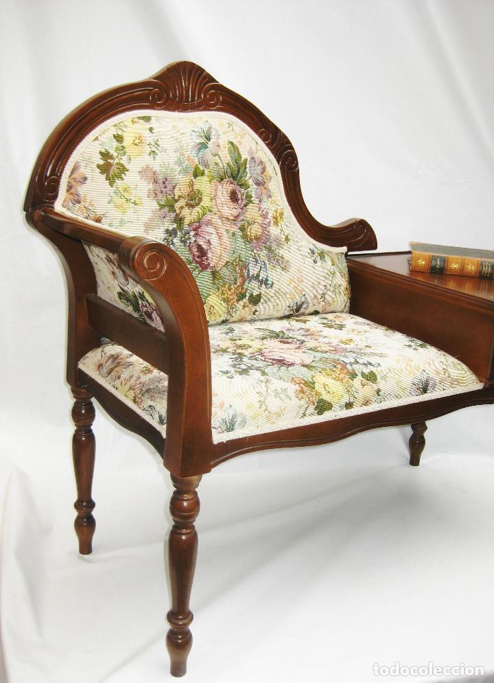 Mueble telefono vintage midcentury clasico tres comprar - Muebles el tresillo ...