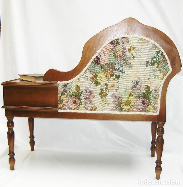 Mueble telefono vintage midcentury clasico tres comprar for Muebles el tresillo