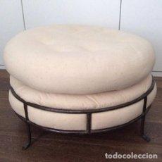Vintage: PUF ASIENTO DISEÑO INDUSTRIAL. Lote 99528483