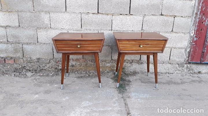 2 mesillas de dormitorio carlo di carli estilo comprar for Muebles estilo vintage online