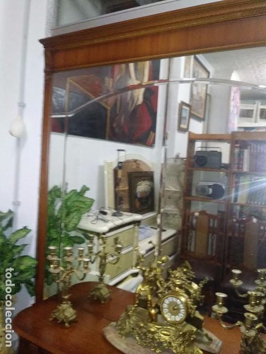 Vintage: CONSOLA,APARADOR, CÓMODA CON UN MURAL DE ESPEJO BISELADO - Foto 6 - 100197011