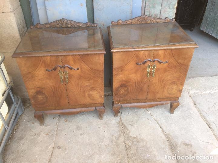 antiguas 2 mesita / mesitas de noche de los año - Comprar Muebles ...