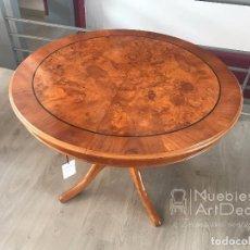 Vintage: MESA DE CEREZO Y CAOBA. Lote 101307311