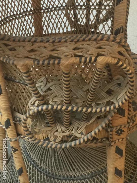 Espectacular sillon l butaca emmanuelle de mimb vendido - Sillon emmanuelle ...