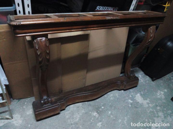 Recibidor aparador antiguo de madera ideal par comprar - Restaurar muebles vintage ...