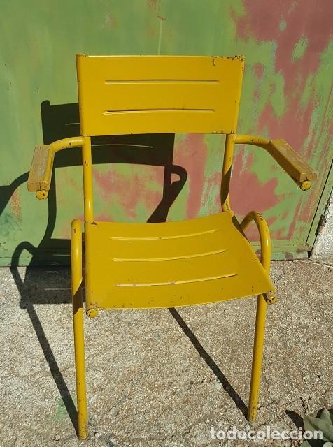 sillas de jardín en verde, amarillo y rojo. par - Comprar Muebles ...