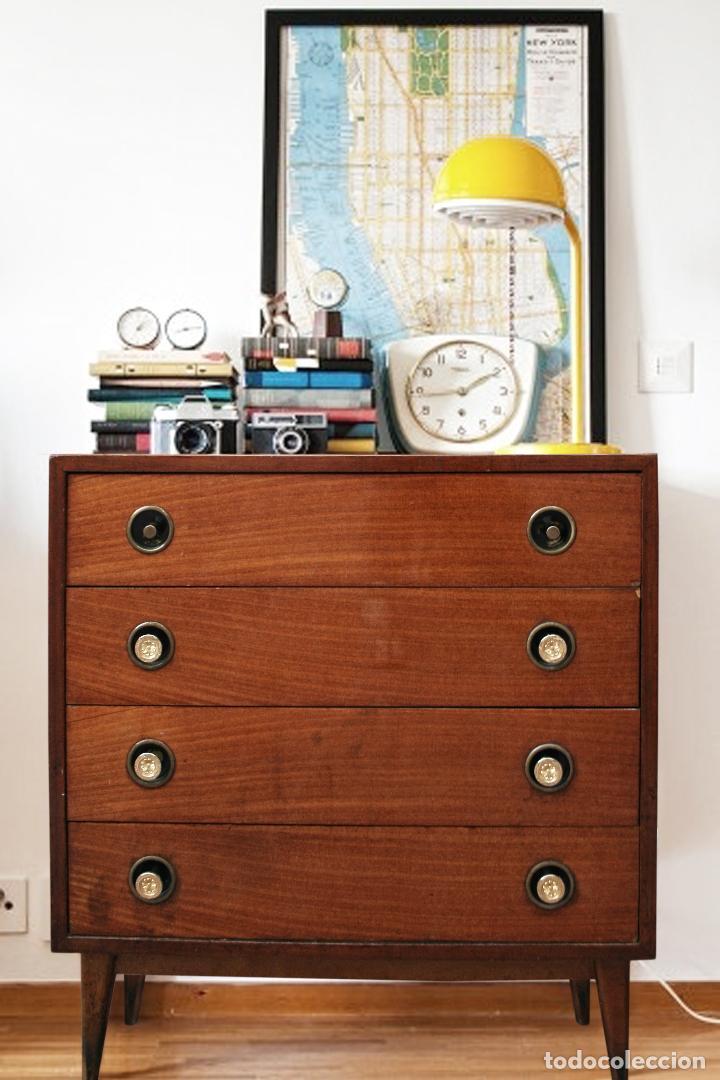 Aparador cajones consola comoda sinfonier a os comprar - Muebles anos 50 madrid ...