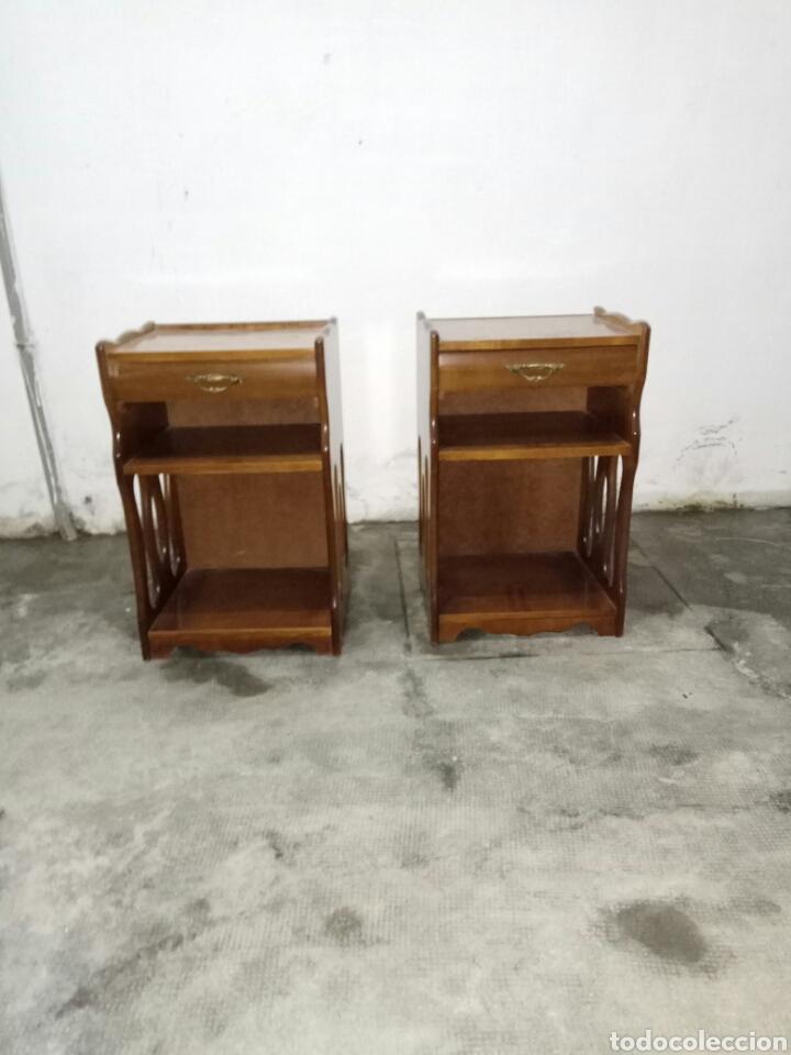 dos mesitas de noche de estilo vintage - Comprar Muebles vintage en ...