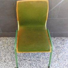 Vintage: SILLA DE ESCUELA ACOLCHADA.. Lote 103155231