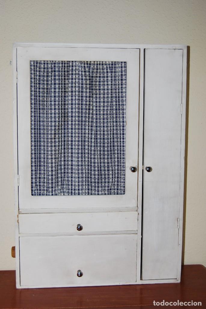 Mueble de madera para cocina armario fresqu comprar for Muebles de cocina anos 80