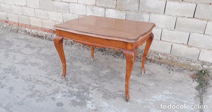 mesa de salón o comedor antigua patas combadas, - Kaufen Vintage ...