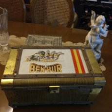 Vintage: CINE BEN-HUR COFRE BAUL MUSICAL. LA CHAPA DEL LETRERO ES METALICA. Lote 105109034