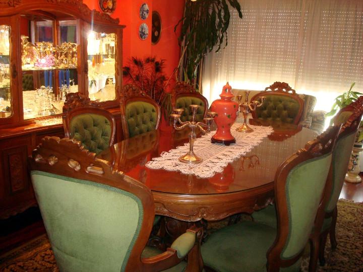 comedor tallado estilo luis xv - Comprar Muebles vintage en ...
