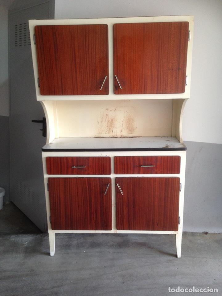 Alacena vintage a os 60 comprar muebles vintage en todocoleccion 106026967 - Muebles anos 60 ...