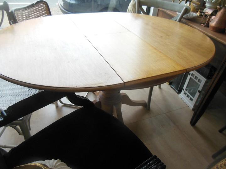 Mesa redonda pata central extensible comprar muebles - Mesa redonda vintage ...