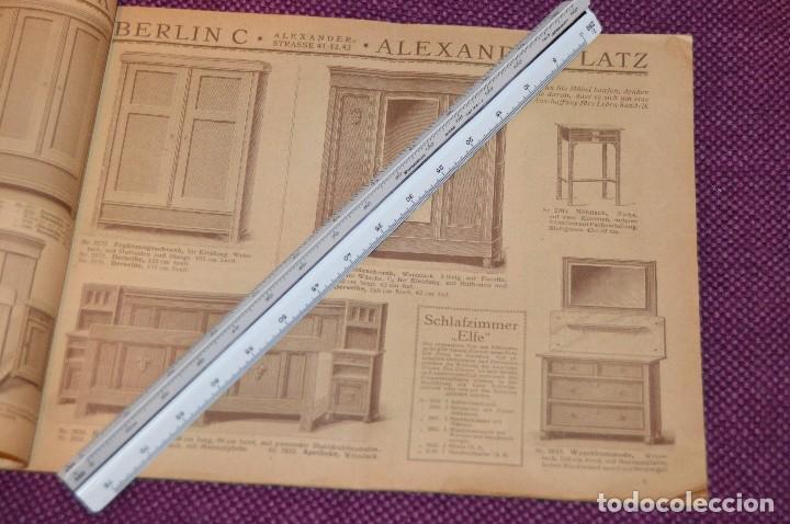 Vintage: ANTIGUA REVISTA - CATÁLOGO DE MUEBLES ART DECO - PRINCIPIOS 1900 - ALBERT GLEISER MÖBELFABRIC BERLIN - Foto 6 - 107452955